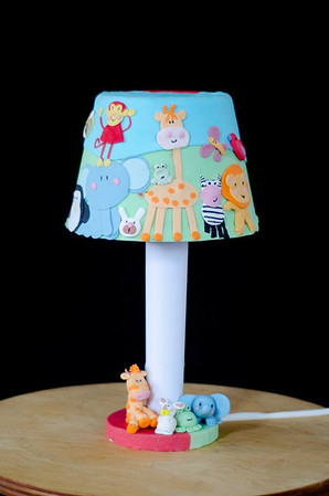 Table Lamp Cake