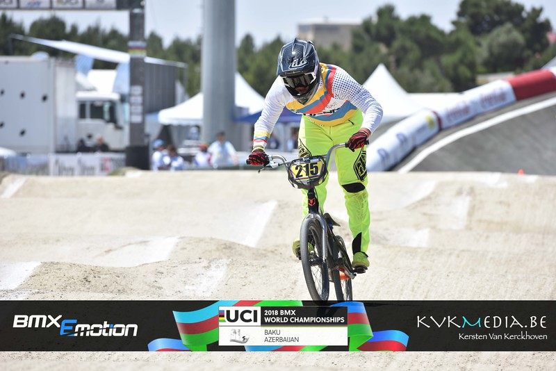 UCI BMX WC BAKU - Challenge group A & B