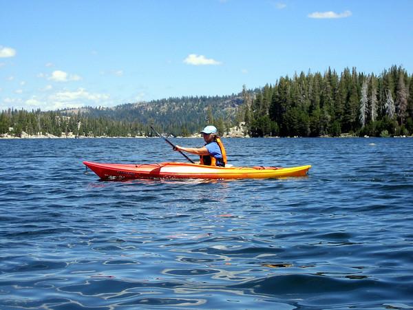 kayak on Silver Lake