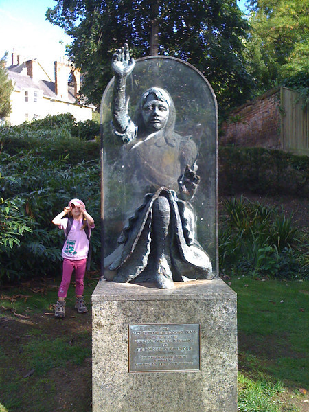 Lewis Carroll wrote Alice Through the Looking Glass in Guildford