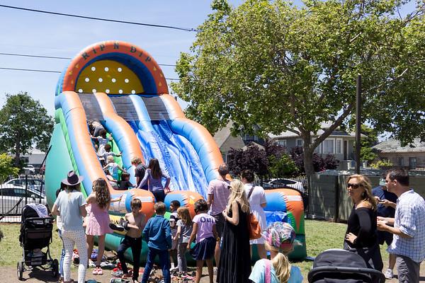 Fair at Ecole Bilingue, Berkeley, May 2017