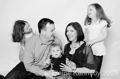 Bríd Daly & family