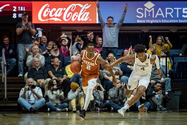 Texas @ WVU Basketball 1.20.20