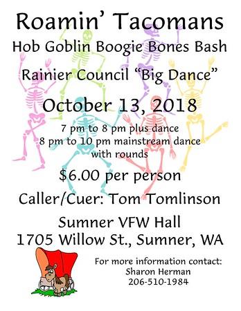 2018-10-13 Big Dance @ Roamin' Tacomans