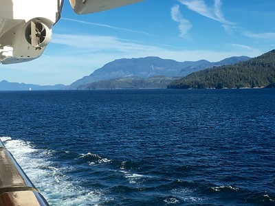 Ketchikan to Vancouver at Sea