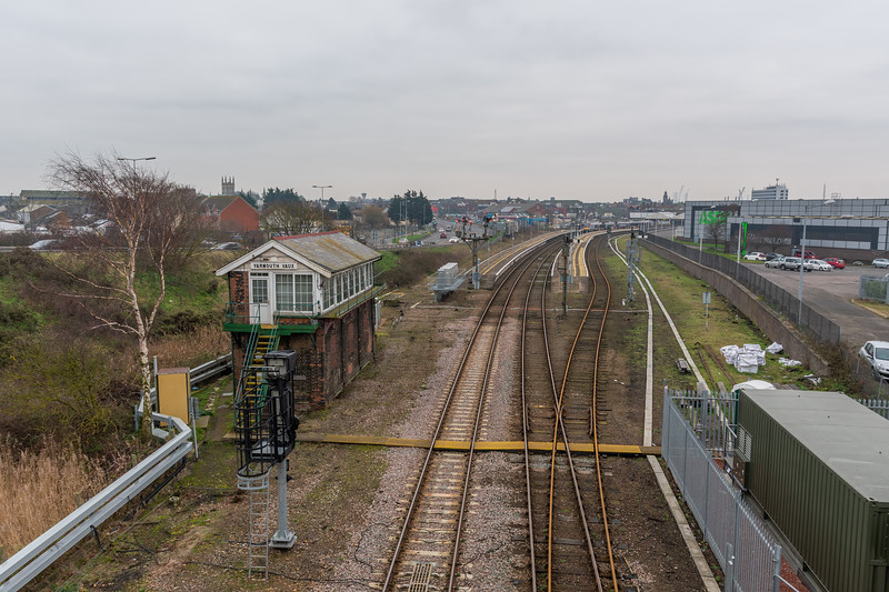 Great Yarmouth Station & Signal Box