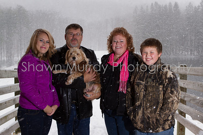 Johnson Family 2012