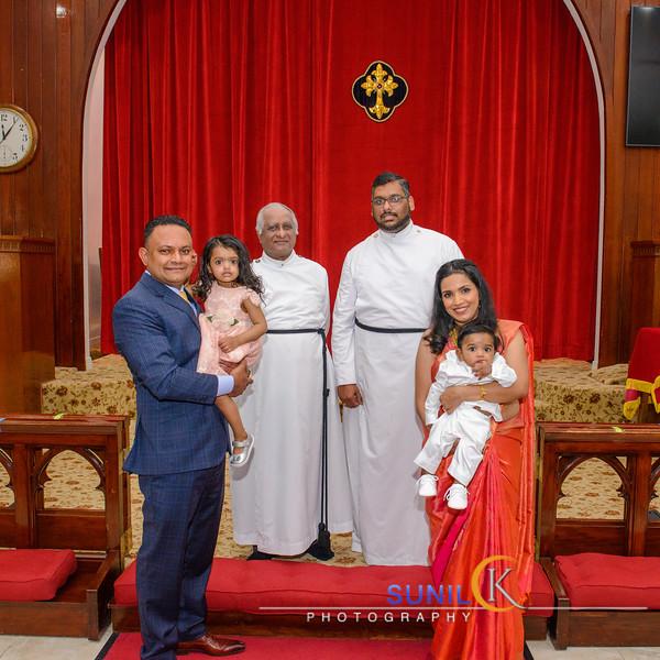 Zachary Baptism Celebration
