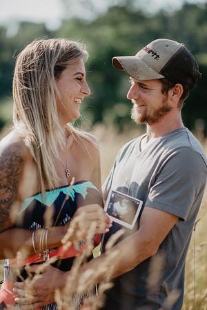 Corinne & Brandon - Baby Announcment