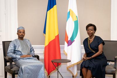 Général de Corps d'Armées, Mahamat Idriss DEBY, Président du Conseil Militaire de Transition, Président de la République du Tchad - Paris
