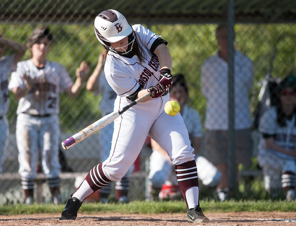05/21/18 Wesley Bunnell   Staff Bristol Eastern softball defeated Bristol Central on Monday afternoon at Bristol Central High School. Morgan Greger (24)