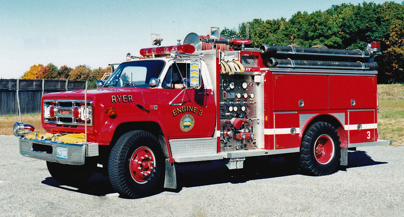 Engine 3 1998 GMC / E-One 1000/750