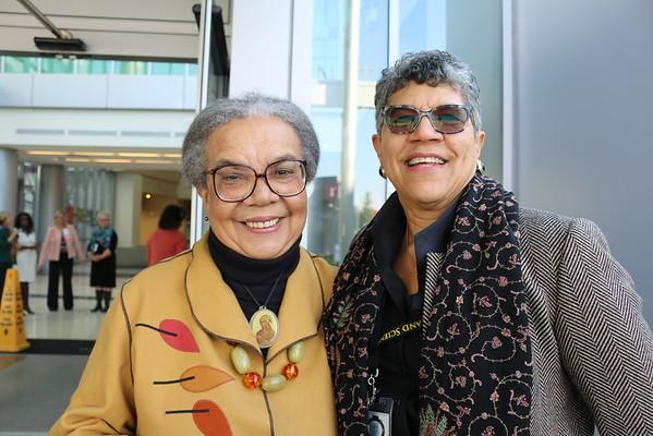 Dr. Deborah Prothrow-Stith and Dr. Marian Wright Edelman