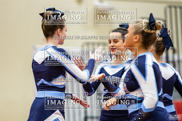 Chapin Middle Cheer-Falcon Invitational