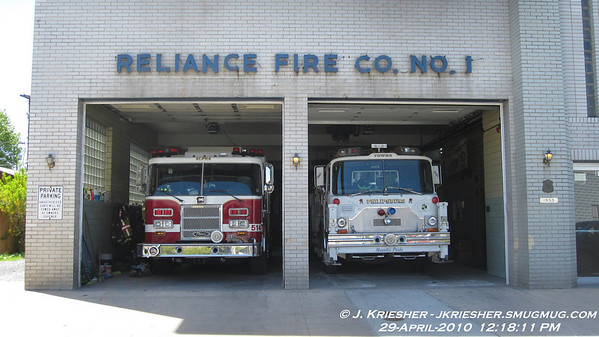 Centre County - Station 12 - Reliance Fire Co., Phillipsburg