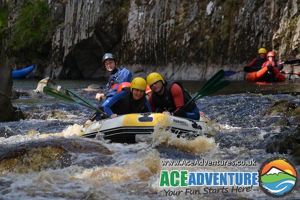 20th of August 2013 Family rafting & Canoe/kayaking