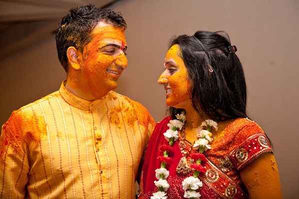 Fritzi and Amit - Garba