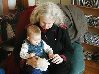 Newborn Camille & 9 month old Beija 2/06