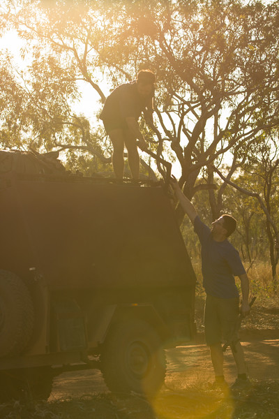 Genevieve Hathaway_The Kimberley_Gibb River Road_Tommy and Guilianno gathering firewood.jpg