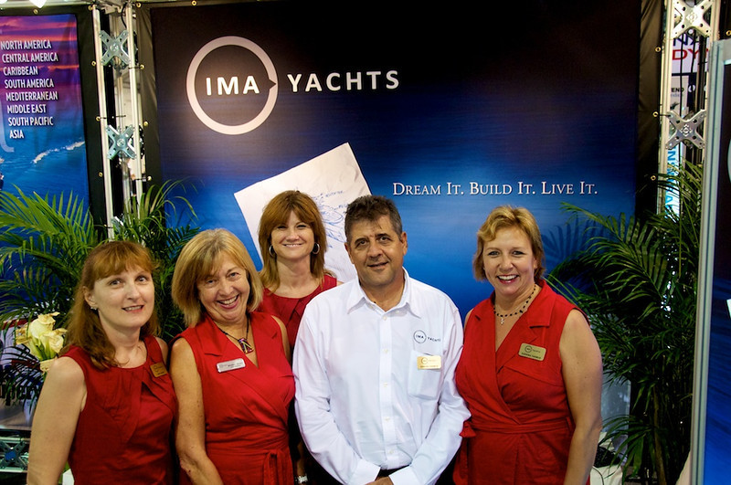 IMA Owners Adrian & Sabrina Farmer with Beverly Grant of Crew Solutions and marvelous staff Chris & Lynn you Dream it they help Built it, Staff it and Manage it so you just Enjoy it!