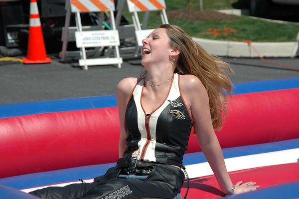 Carla Wilhelm @ Applachian Harley Davidson - April 29, 2007 - Nikon D70 - Mark Teicher