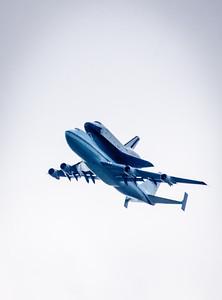 Shuttle Fly By