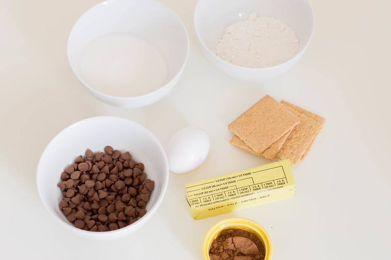 ingredients for smores cookie recipe