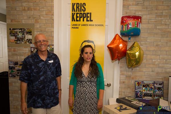 Coach Kris Keppel Party