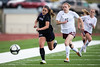 The Cheyenne Mountain Indians defeated the Discovery Canyon Thunder 4-1 in the quarterfinals of the 2015 CHSAA Girls Soccer State Championships on Thursday, May 14, 2015 at Cheyenne Mountain High School. Photo by Isaiah J. Downing