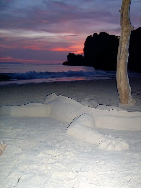 Awesome sand lizard