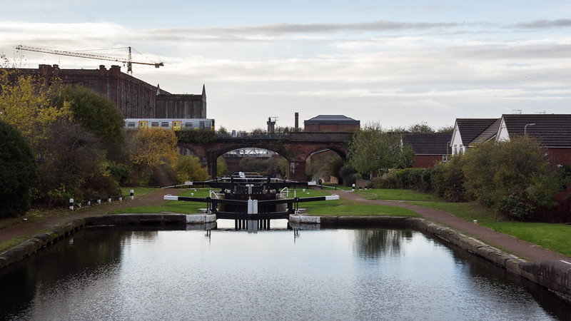 Stanley Dock locks on the Leeds and Liverpool Canal