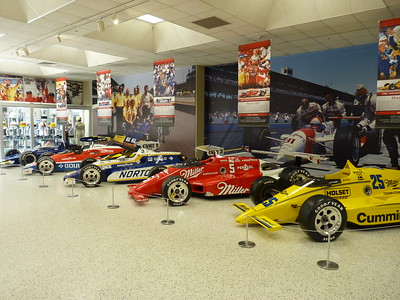 Indianapolis Motor Speedway Museum - 22 & 27 May '16
