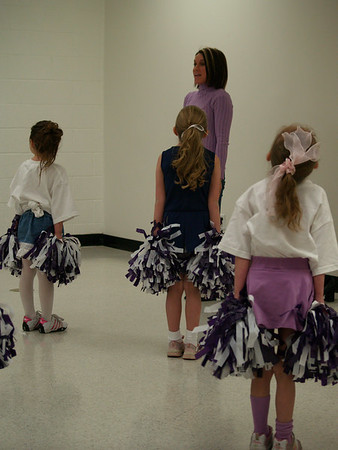 Anneli's Cheerleading Performance