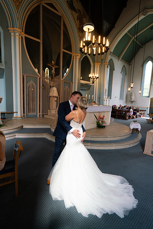 Laura & Michael.  ALL SAINTS & BOREHAM HOUSE