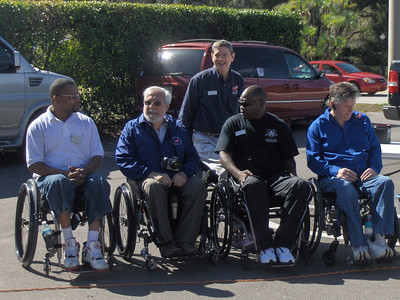 Flag Raising Paralyzed Veterans Association 28 Jan 2012