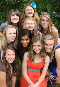 2010 North Freshman Farewell - Riley and Friends