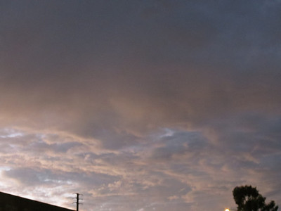 Tustin Twilight Skyline - 8/28/12