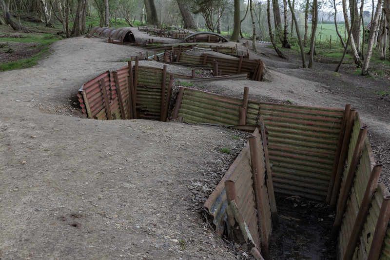 WW1 Trenches