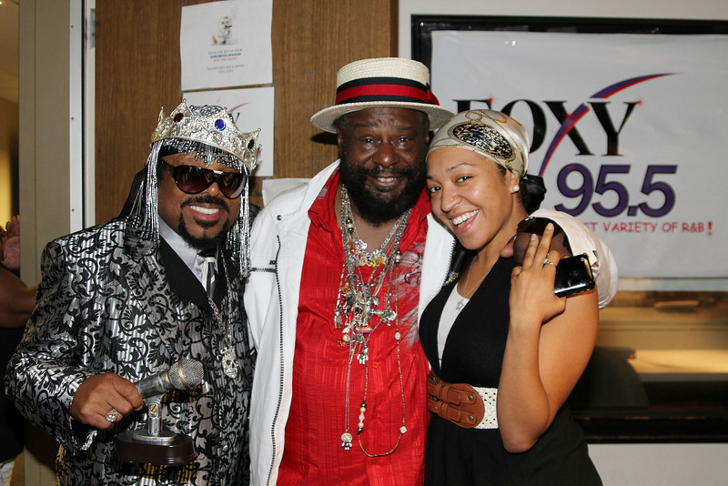 Foxy 95.5 with George Clinton