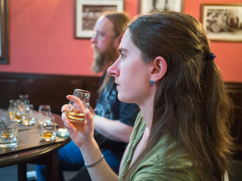 Becky Whiskey tasting