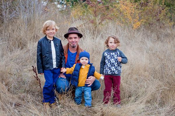 Watters-Jordan Family Fall 2017