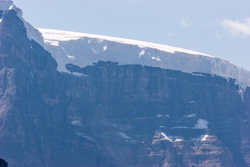 Glacial Cap atop Snow Dome