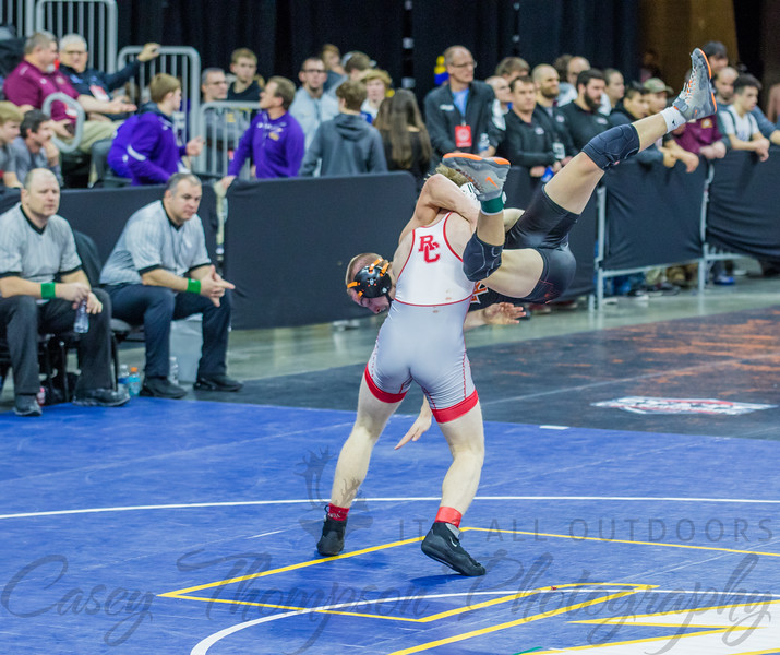 2020 State A Wrestling Tournament Day 2