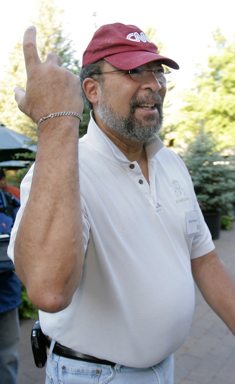 . Richard Parsons, Chairman of the Board of Time Warner, arrives for the annual Allen & Co.\'s media conference Thursday, July 10, 2008, in Sun Valley, Idaho. (AP Photo/Douglas C. Pizac)