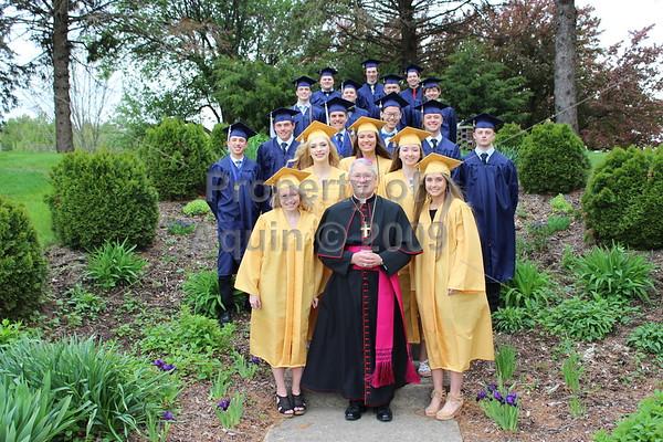 senior high graduation . 5.17.19