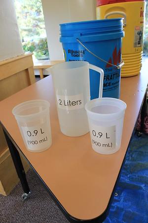Grade 8 human density experiment
