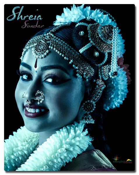Shreia Sundar's Pre-Arangetram Portraits 2020