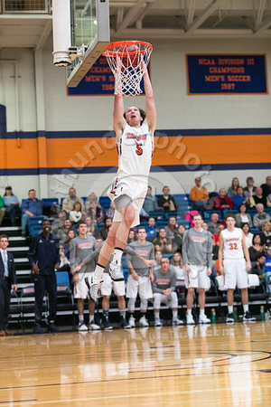 Wheaton College Men's Basketball vs Millikin University, January 14, 2017