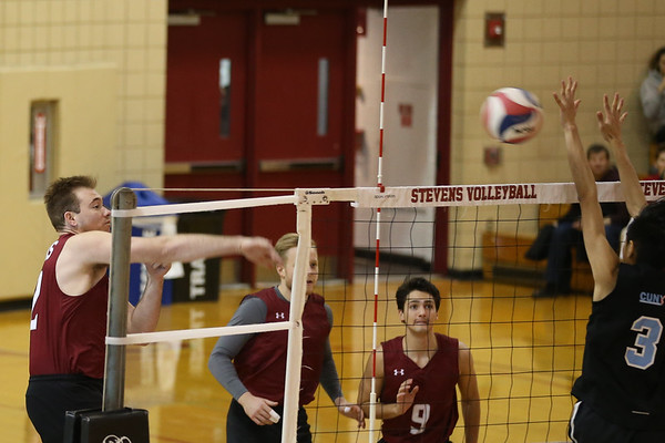 Stevens Volleyball v College of Staten Island 180408
