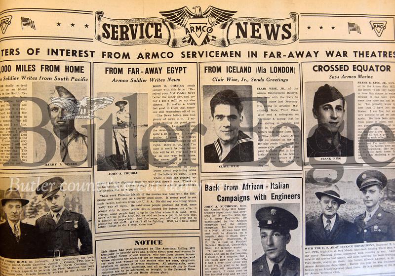 Harold Aughton/Butler Eagle: Armco at War